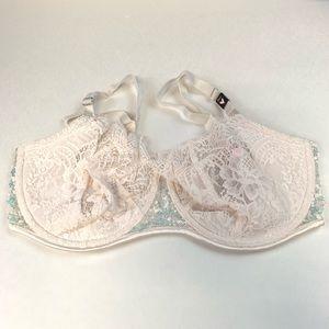 NEW Victoria's Secret Dream Angels 38DD Off White